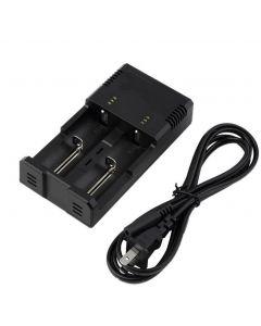 NITECORE I2 INTELLICHARGE Universal-Batterieladegerät Intelligentes Ladet Poweriq Design für 18650 14500 AA AAA