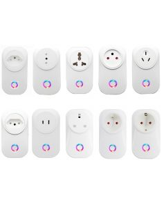 Smart Socket Smart Plug EU UK Swit AU FR FR JP Israel Ita ZA Stecker A Fernbedienung Alexa Google Home Energy Monitor