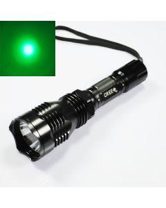 UniqueFire HS-802 Cree Green Light Langbereich LED-Taschenlampe
