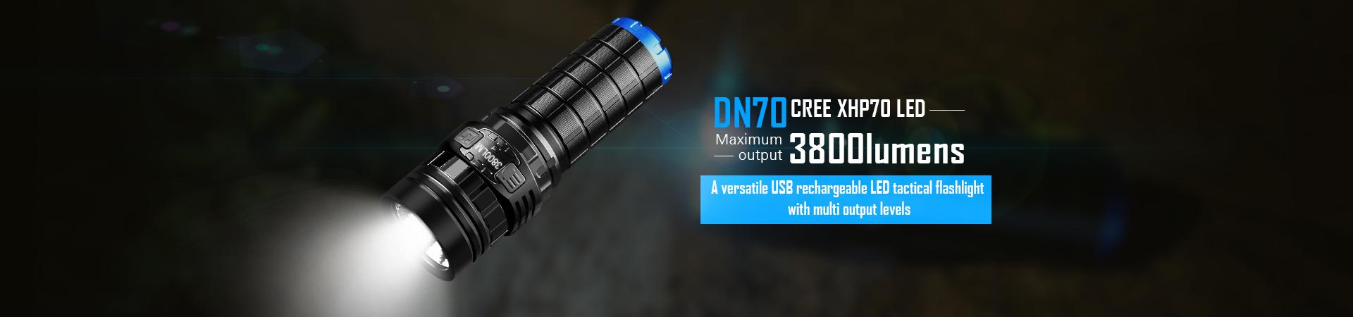 Imalent dn70 taschenlampe